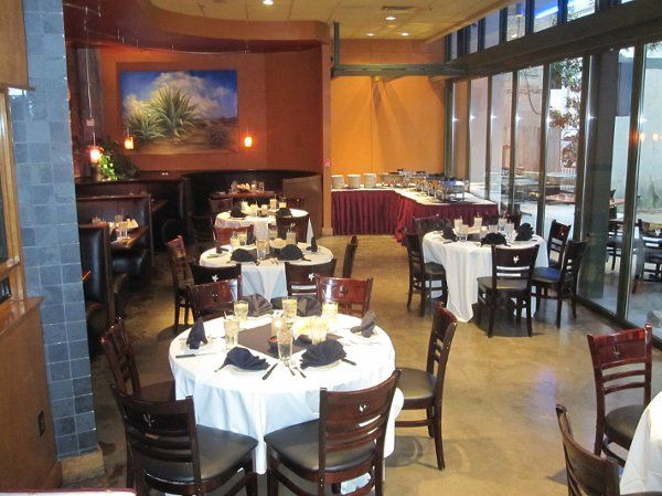 Our Plaza Dining is a semi private area located in the main dining room. The Plaza Dining room...