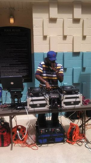 DJ and equipments