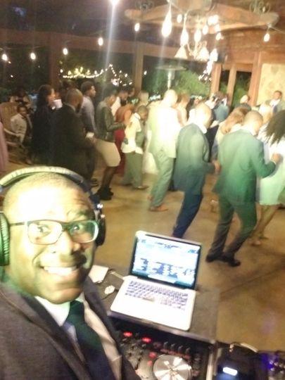 Getting the dance floor going