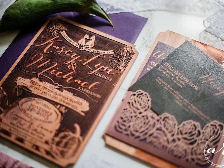Tmx 1514581467583 Imagesbyamberrobinsonraleighweddingphotographerkas Cary, NC wedding invitation