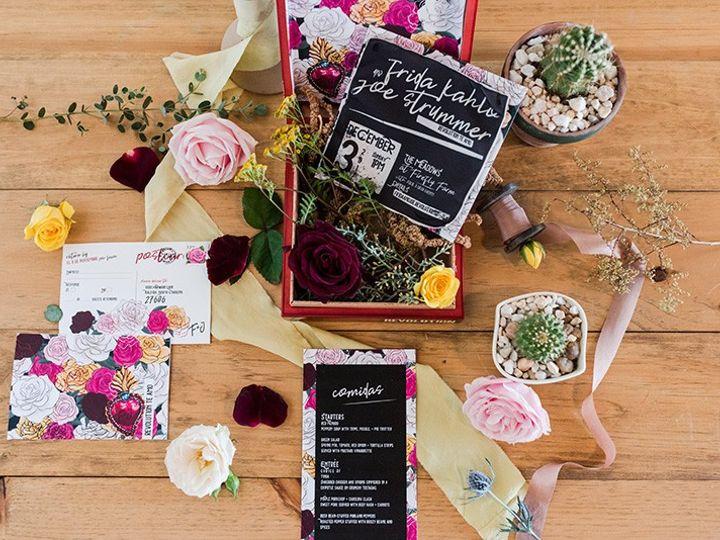 Tmx Frida Joe Ana Theresa Revelry And Heart Medows Raleigh Web2 51 974238 1561144752 Cary, NC wedding invitation
