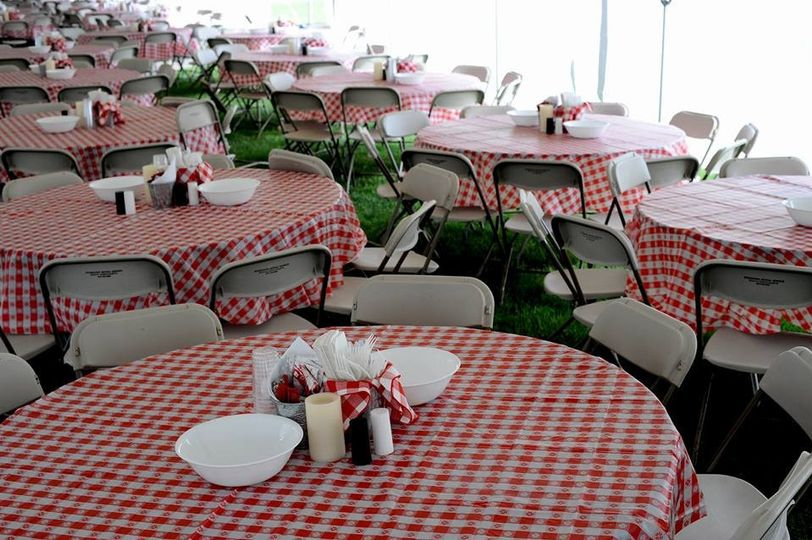 catering pic tables