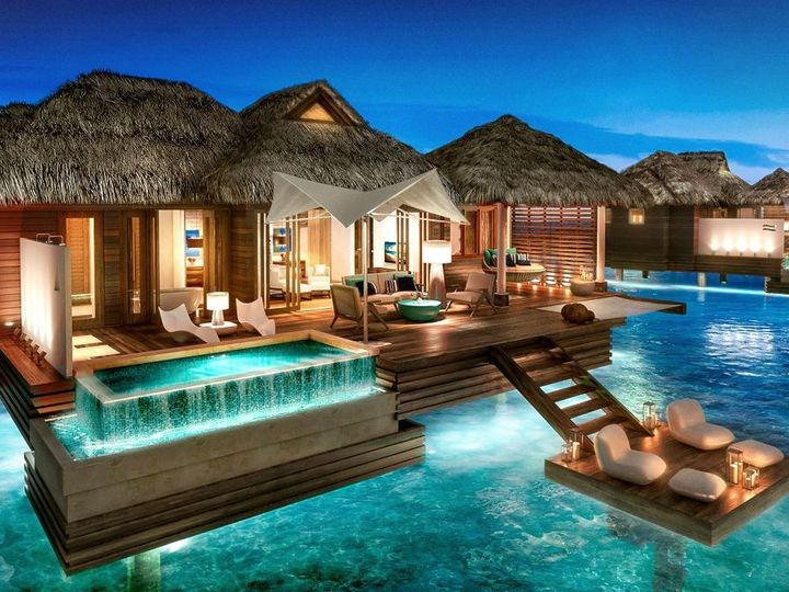 Tmx 1459568326566 Sandals Over The Water Bungalow Jamaica Salem wedding travel