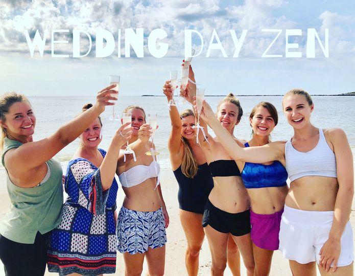 Wedding Day Zen Yoga