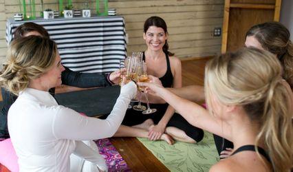 Wedding Day Zen Yoga 1