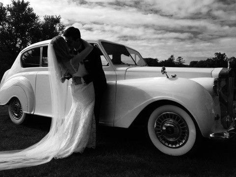 Brides & Grooms love our classic Rolls Royce...Perfect for pictures of your wedding day!