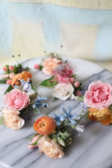 Boutonnieres by Lemon & Tulips