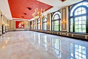 The Virginia Dare Ballroom at Sir Walter Apartments