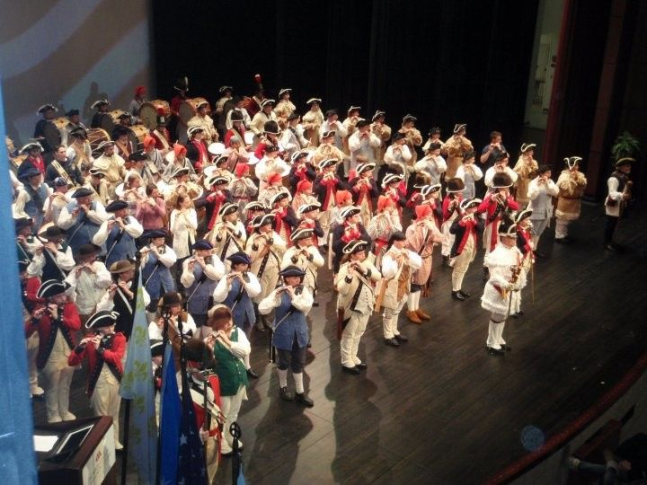 Fife & Drum Camp in Theater