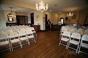 Ballroom configured for Ceremony