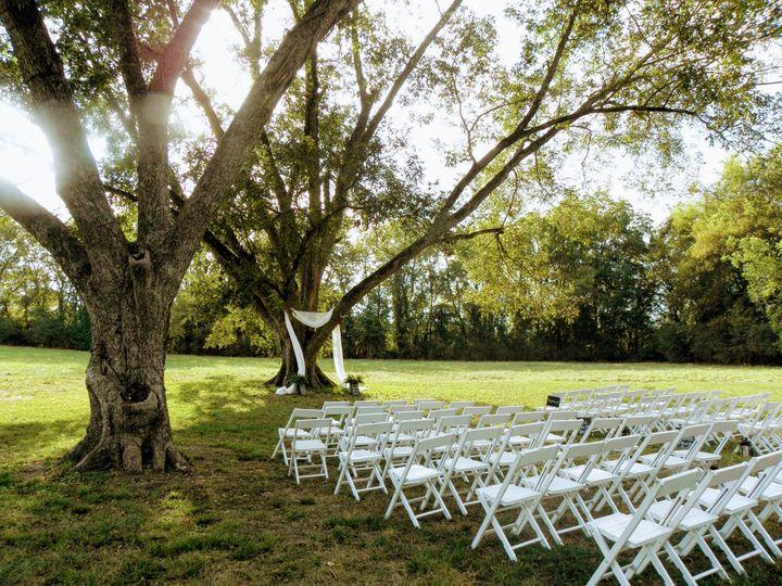 Ceremony in the Pecan Grove