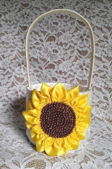 sunflower basket 8