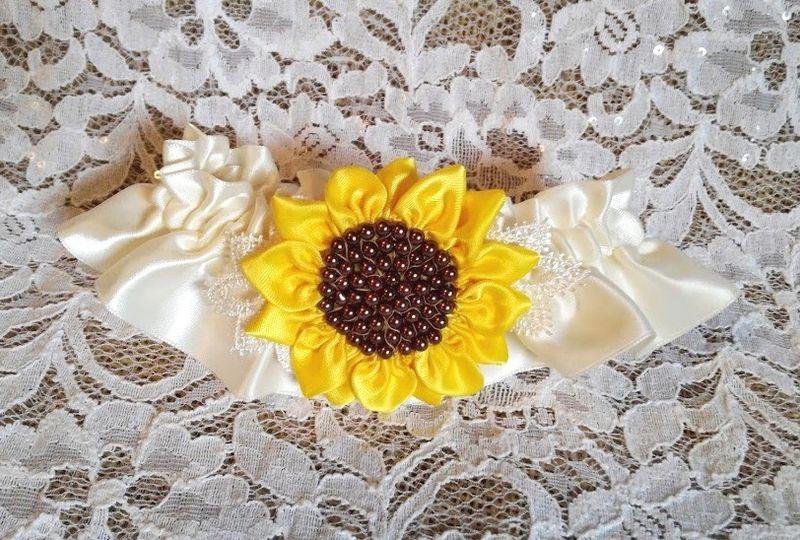 sunflower garter 9