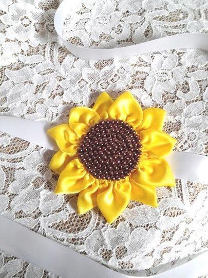 sunflower headband 5