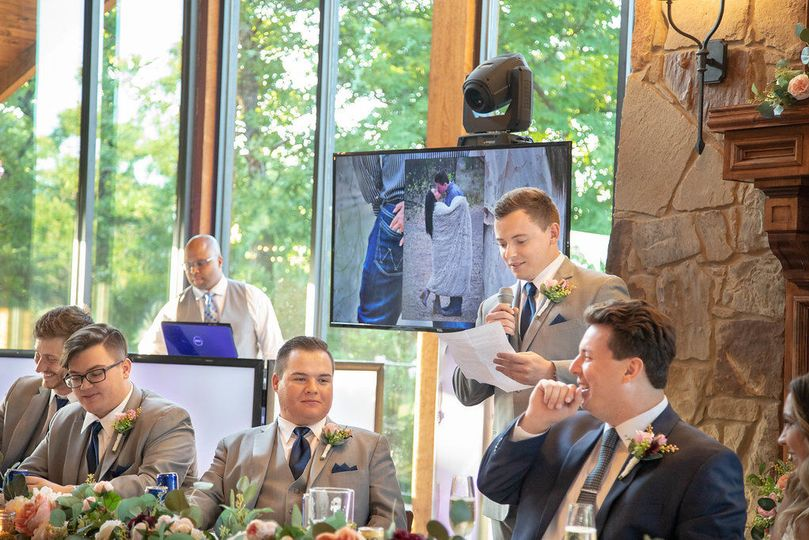 Best Man Speech & Wedding DJ