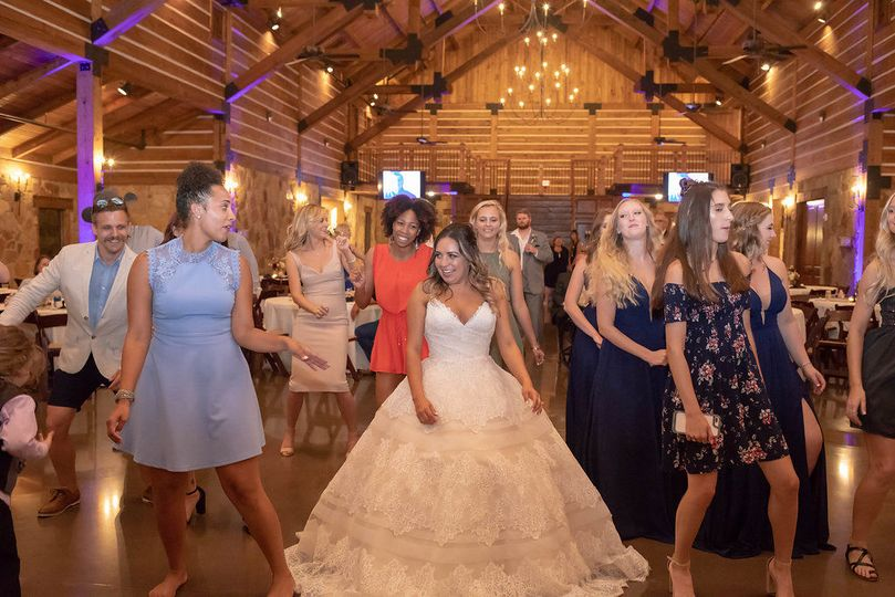 Bride Dancing...