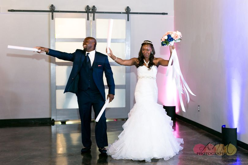 Bride & Groom Grand Entrance