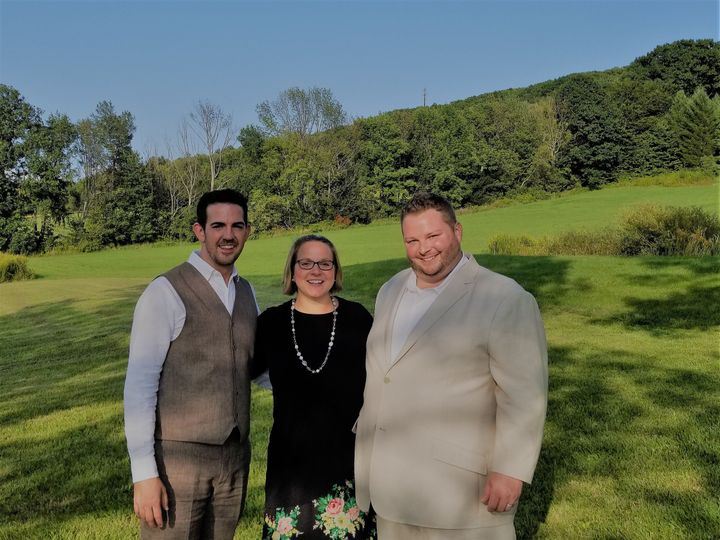 Tmx 1504055054028 Brad And Keith 2 York, PA wedding officiant
