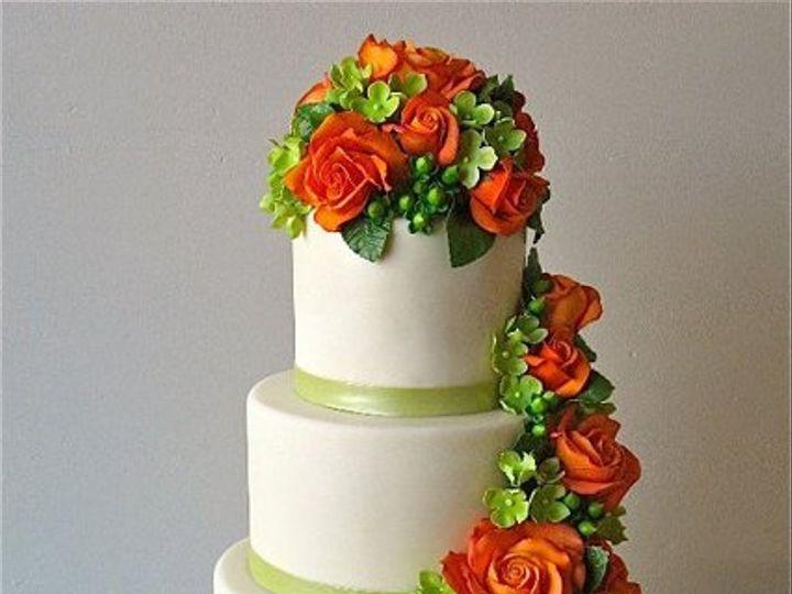 Tmx 1334093395356 Traditional Seattle wedding cake