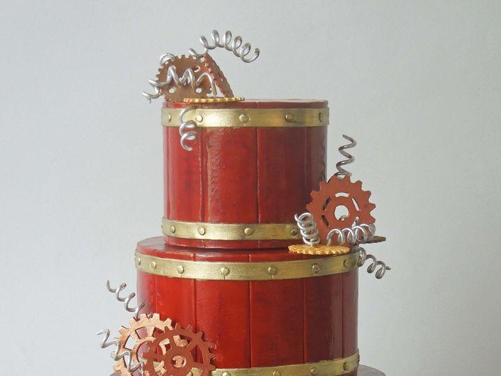 Tmx 1371017362708 Steampunk Gears Seattle wedding cake