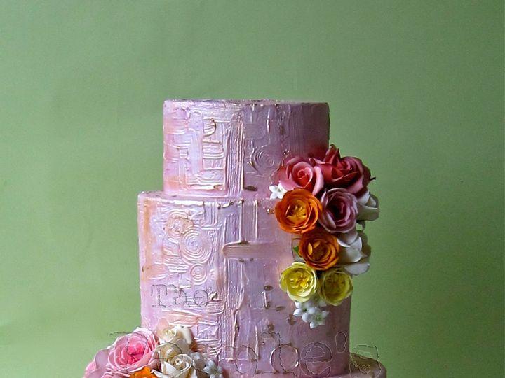 Tmx 1371017819365 Hallie Seattle wedding cake