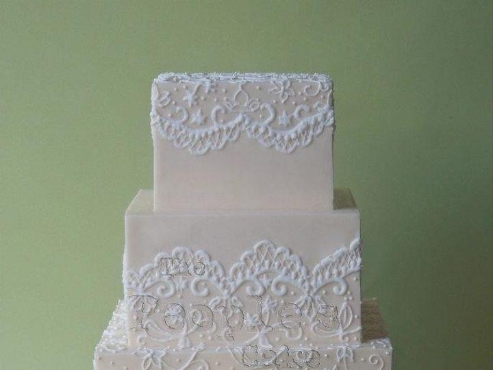 Tmx 1371017834866 Ivory Piping Seattle wedding cake