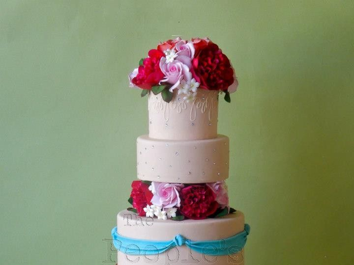 Tmx 1371017893192 Classic Princess Cake Seattle wedding cake
