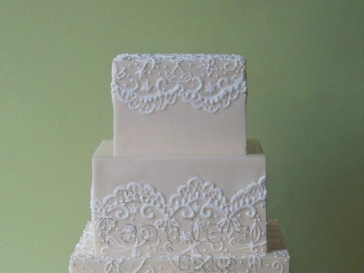 Tmx 1371017896881 Ivory Piping Seattle wedding cake