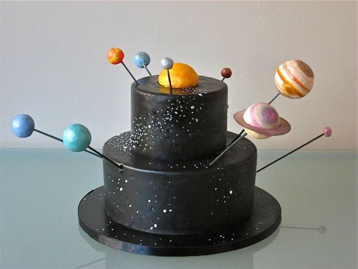 Tmx 1371017985541 Solar System Cake Seattle wedding cake