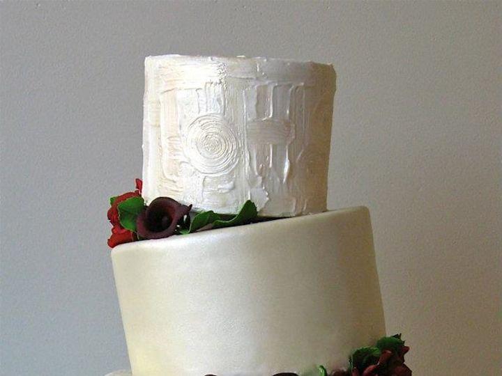 Tmx 1371018303231 Champagne Klimt Seattle wedding cake