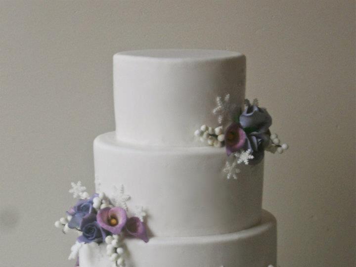 Tmx 1371018385491 Winter Wedding Seattle wedding cake