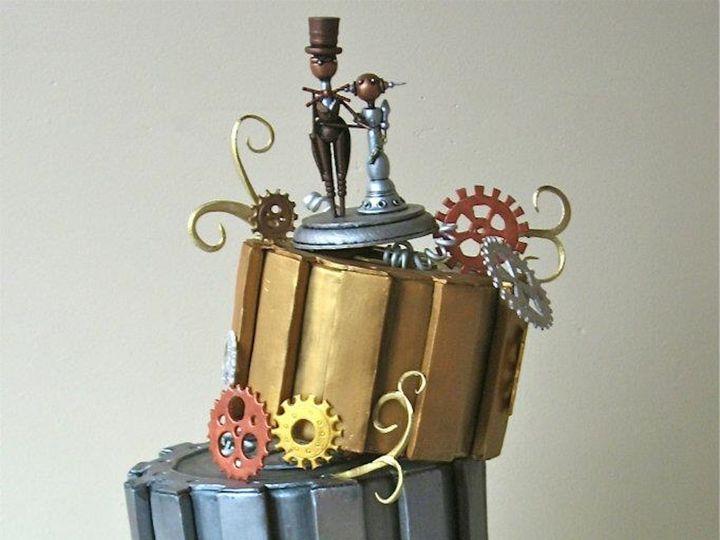 Tmx 1371018602209 Steampunk Seattle wedding cake