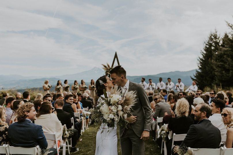 Hood River Wedding Ceremony