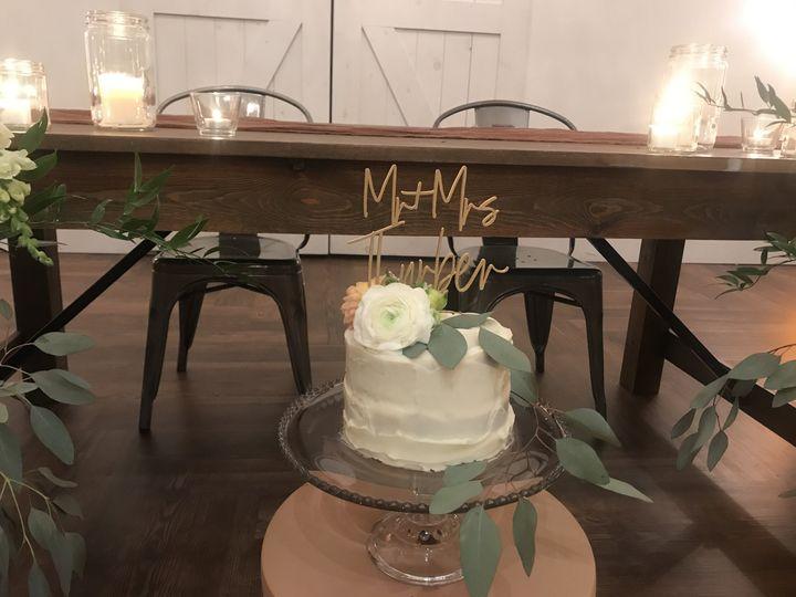 Mini wedding choco cake