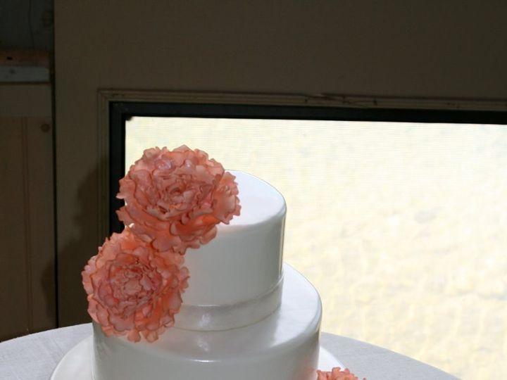 Tmx 1343755223569 061711YvonnePEquinoxPond Raleigh wedding cake