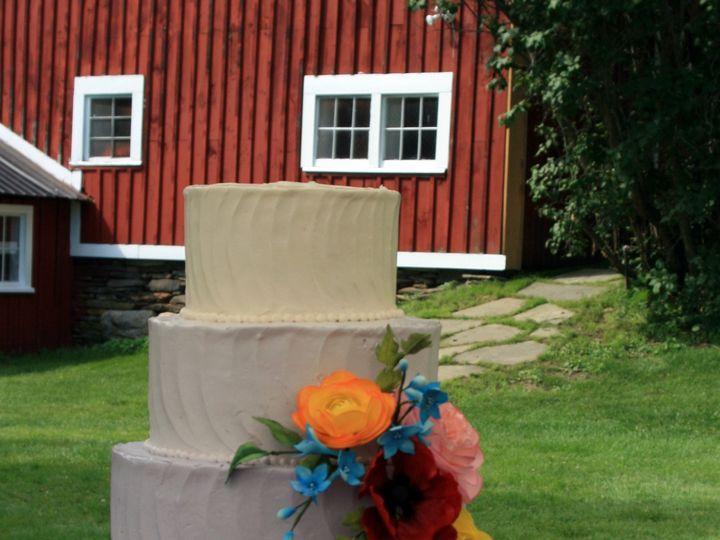 Tmx 1418393309793 072614 Kristyn M Reading Farms Raleigh wedding cake