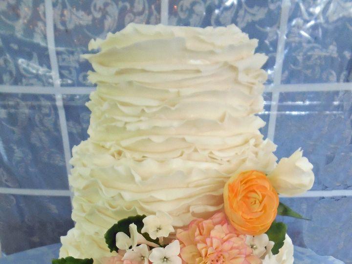 Tmx 1418393389596 082314 Anna Canfield Barrows House Raleigh wedding cake