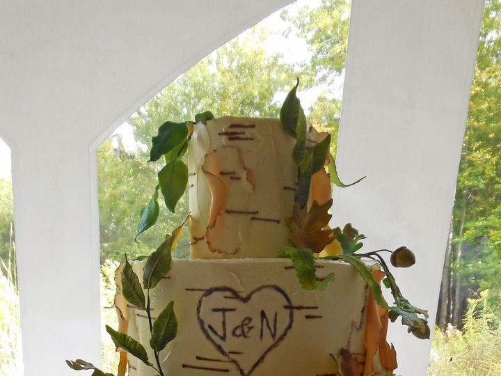 Tmx 1418393474611 092114 Natalie G Cake Raleigh wedding cake