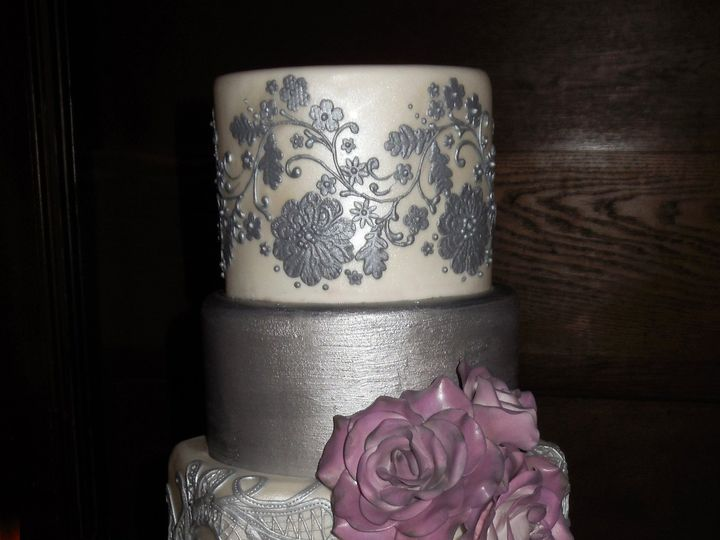 Tmx 1418393581045 111514 Vermont Vows Show Shelburne Raleigh wedding cake