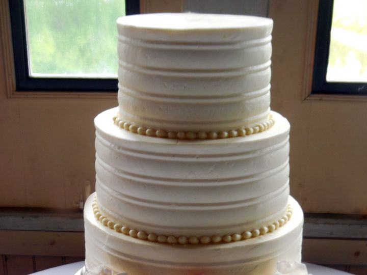 Tmx 1465476413725 062715 Jennifer Z Raleigh wedding cake