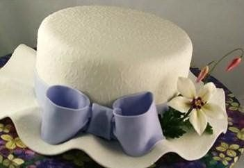BRIDAL SHOWER HAT CAKE