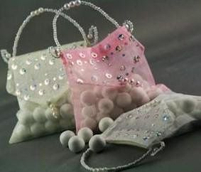 SEQUINED BRIDAL PURSE FAVOR