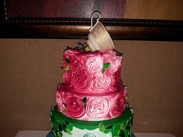 Tmx 1386689013144 Alice Birthday Cak Saint Petersburg wedding cake