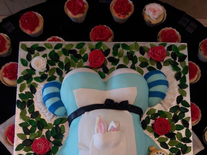 Tmx 1386689044160 Alice Pregnant Belly Cak Saint Petersburg wedding cake