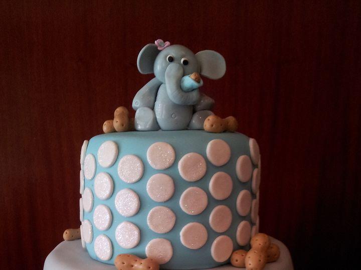 Tmx 1386689072126 Baby Elephant Cake  Saint Petersburg wedding cake