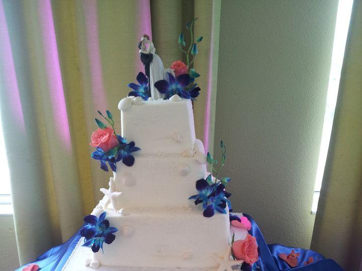 Tmx 1386689133665 Blue Orchid Cake  Saint Petersburg wedding cake
