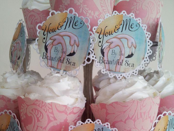 Tmx 1386689165083 Flamingo Cupcakes  Saint Petersburg wedding cake