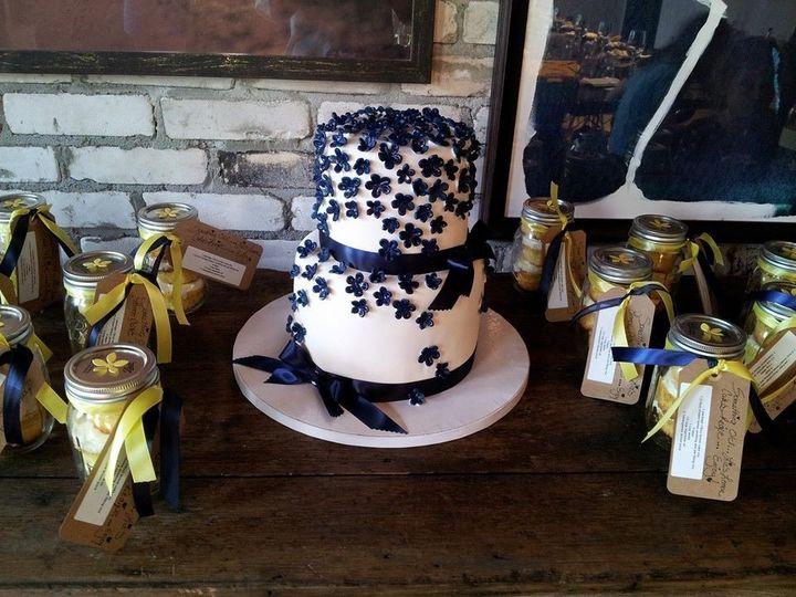 Tmx 1386689211796 Navy Country Chic Cak Saint Petersburg wedding cake