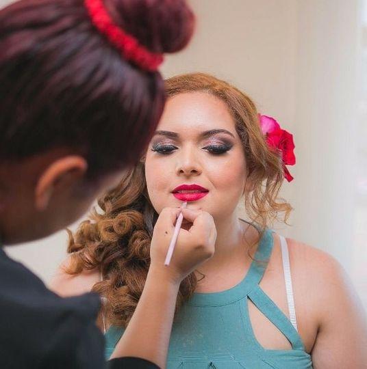 Brianda texta brides makeup puerto vallarta
