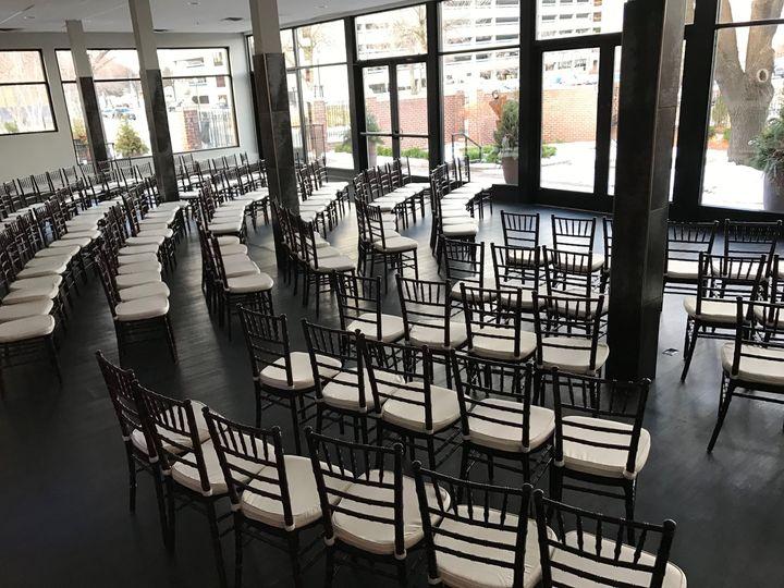 Grand Atrium Ceremony set-up